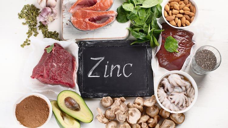 sources de zinc