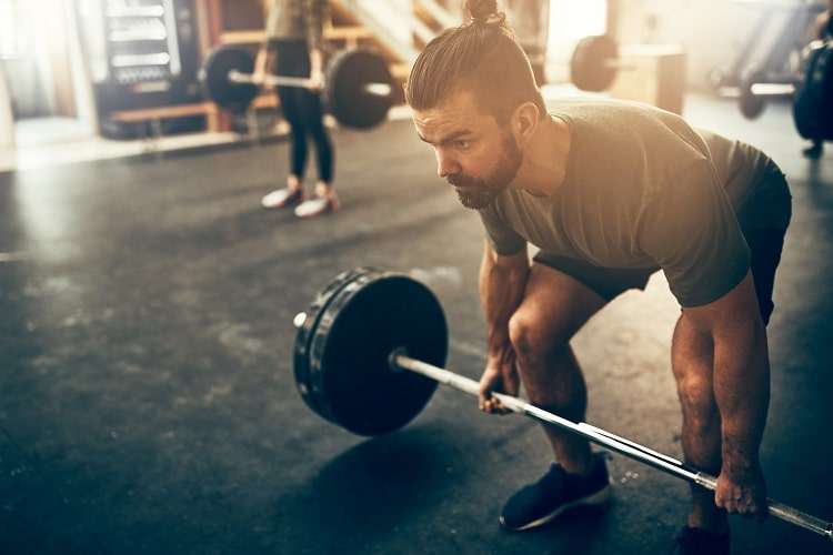 Deadlifts improve core strength