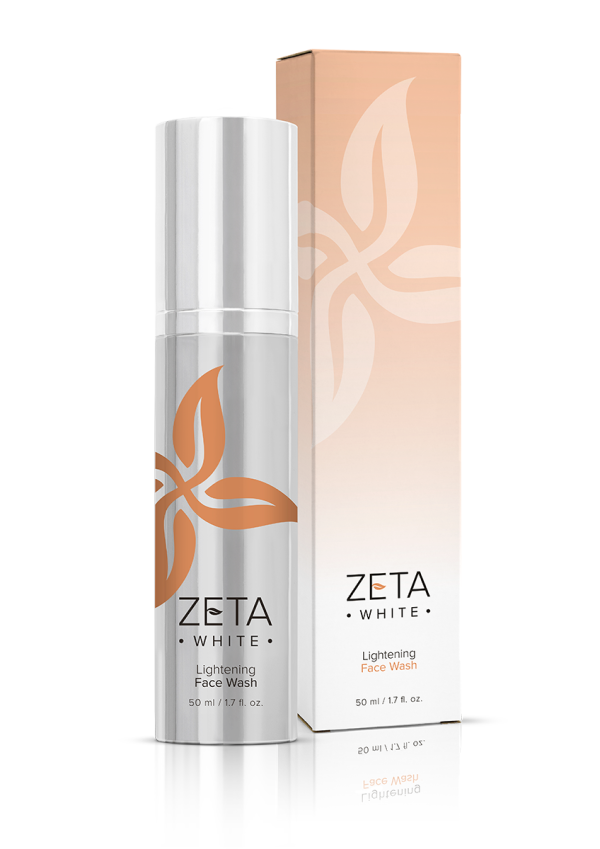 Zeta White face wash